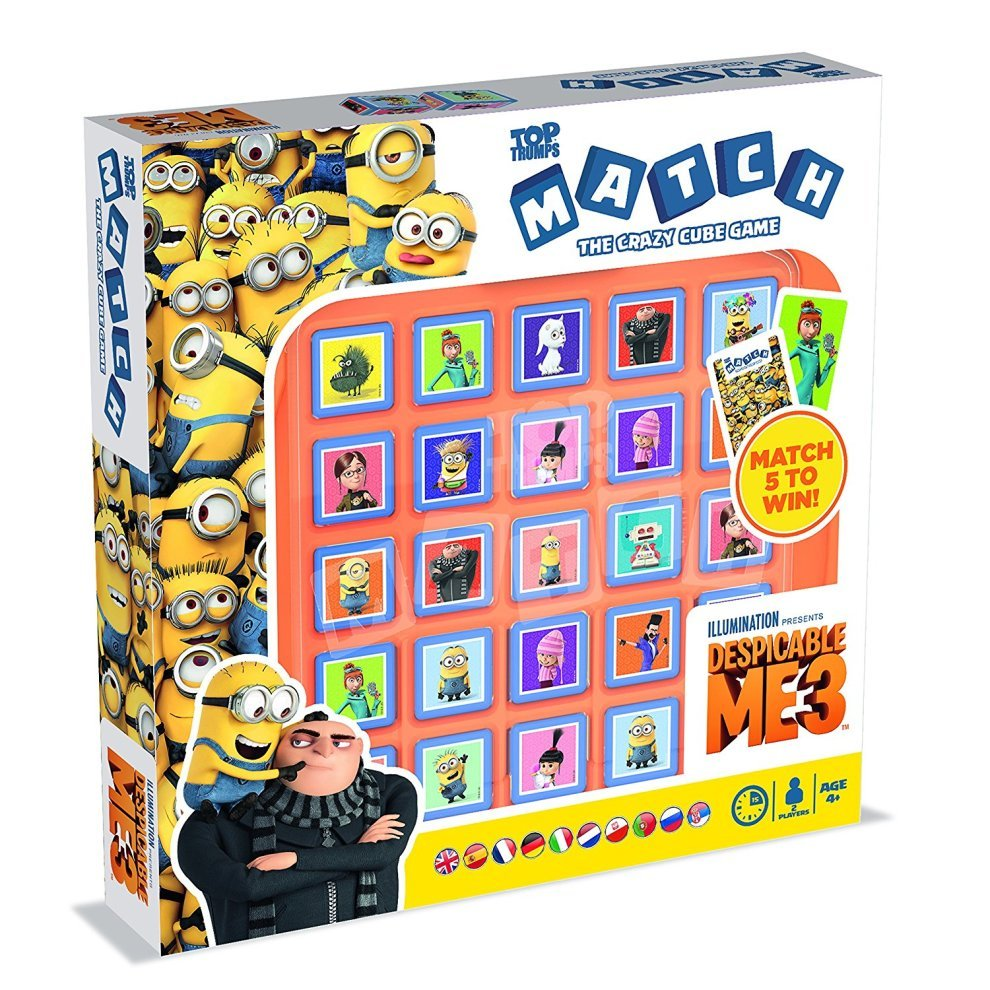 Despicable Me 3 Top Trumps Match Board Game