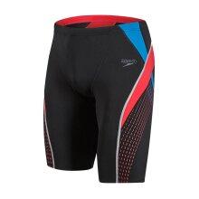 Speedo Fit Splice Mens Swimming Jammer Swimshort Short Black