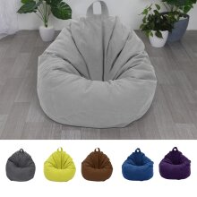 Adults Kids Large Bean Bag Sofa Cover Indoor Lazy Lounger