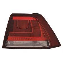 Volkswagen Golf 5 Door Hatchback 2013-2017 Rear Lamp Outer Section - Not LED Version - Red (Standard Models) Driver Side R