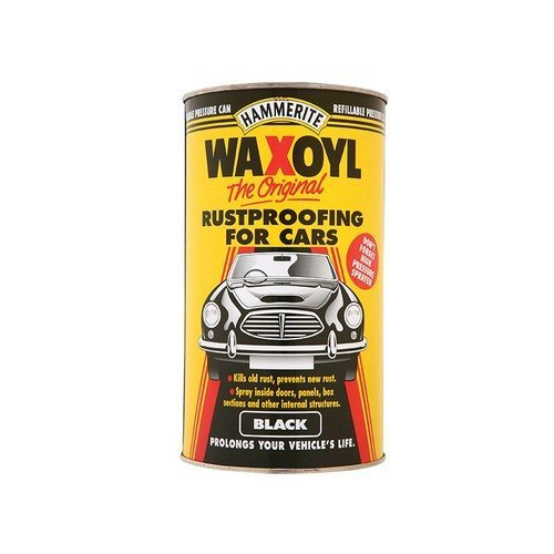 Hammerite WAXOBLPC Waxoyl Black Pressure Can 2.5 Litre