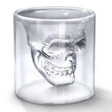 Fred DOOMED Skull Shot Glass