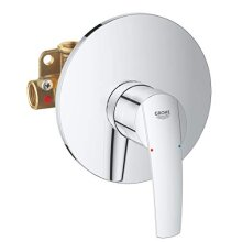 Grohe Start Bath Shower Mixer Tap with Flush-Mounted Body 32590001