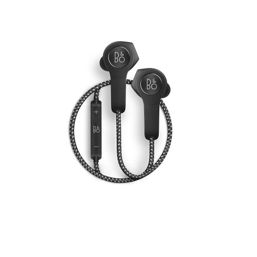 (Black) B&O PLAY by Bang & Olufsen Beoplay H5 Wireless Bluetooth In-Ear Headphones