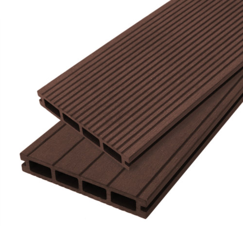 Composite Decking Boards Wood Plastic  / 5 SQM Conker Brown