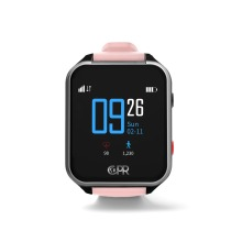 CPR Guardian III - SOS Personal Alarm Watch with Fall Alert Detection and GPS Location Tracking Pink