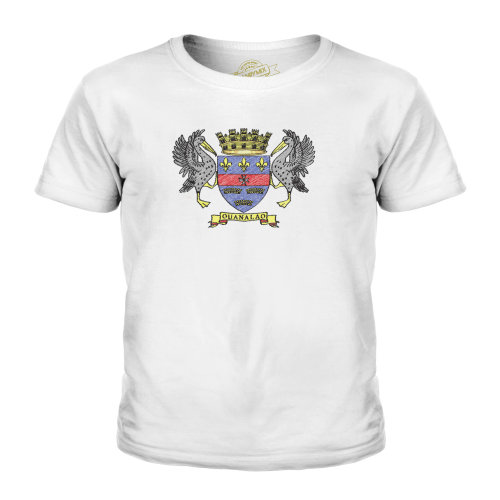 Candymix - Saint Barthelemy Scribble Flag - Unisex Kid's T-Shirt