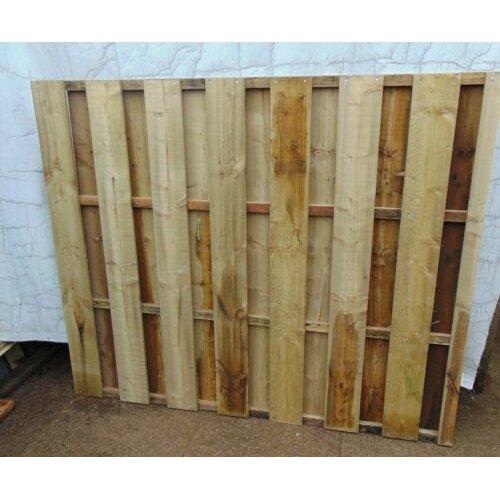 Wooden Garden Fence Panels Flat Top