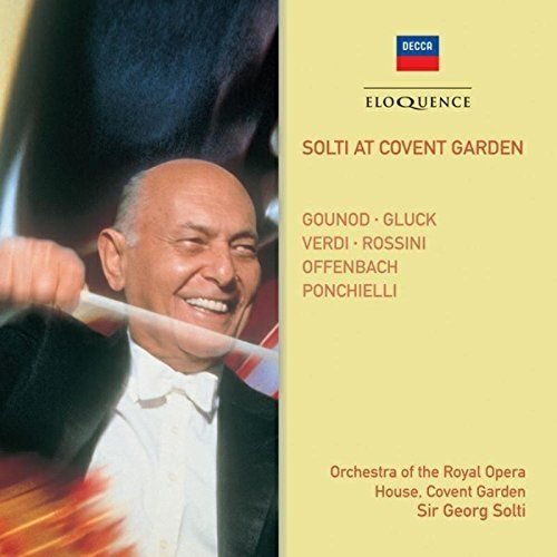 Sir Georg Solti Orchestra of the Royal Opera House - Solti at Covent Garden: Gonoud, Gluck, Verdi [CD]