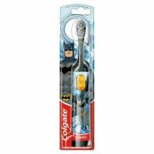 Kids Electric Toothbrush Tooth Brush Childrens 3+ Colgate Batman Battery Powered