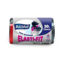 Bacofoil 12 x 30L Elasti-Fit Kitchen Bin Liners