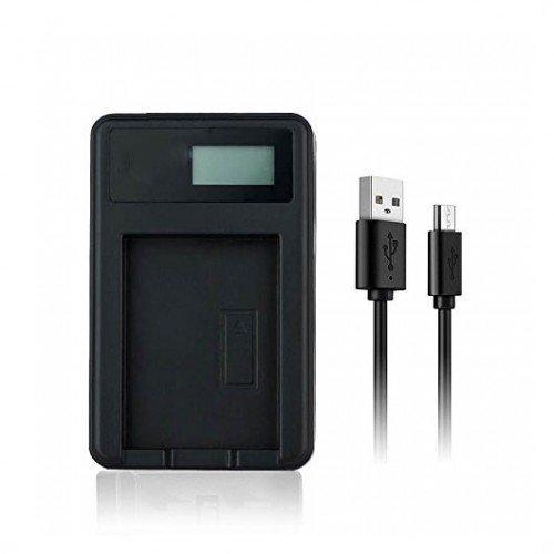 USB Battery Charger For Sony CyberShot DSC-W300 Digital Camera