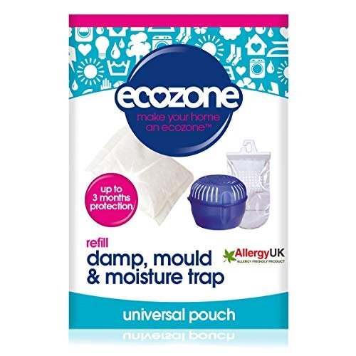 Ecozone Universal Dehumidifier Refill Pouch, Fits all Humid.net dehumidifiers, Lasts Up To 3 Months