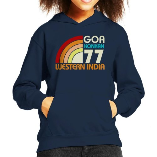 Goa Konkan Western India Kid's Hooded Sweatshirt