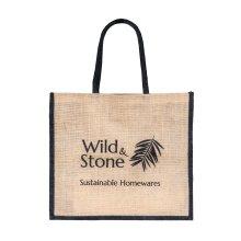 Jute Hessian Shopping Bag