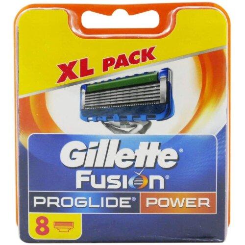 Gillette Fusion5 ProGlide Power Razor Blades, 8 Refills