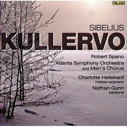 Atlanta Symphony Orchestra and Robert Spano - Sibelius: Kullervo, Op. 7 [CD]