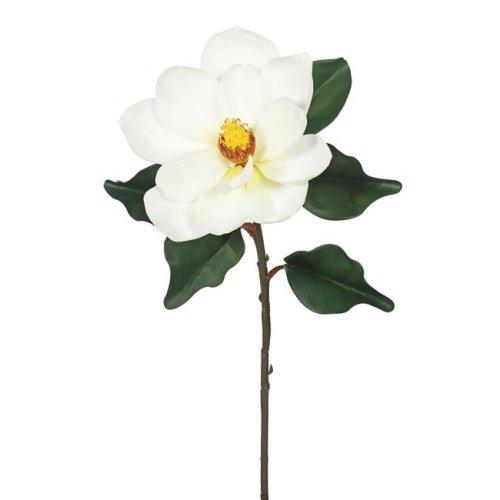 Vickerman FA172401 Single Magnolia-Cream Floral Stem