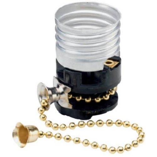 8002MCC10 Pull Chain Socket, 250W