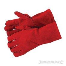 Silverline Welders Gauntlets 330mm -  gauntlets welders silverline 330mm gloves 282389 welding