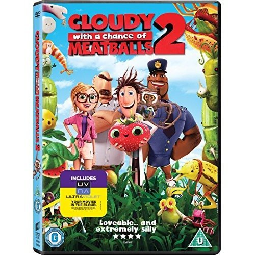 Cloudy With A Chance Of Meatballs 2 DVD [2014]