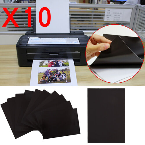 10pcs A4 Magnetic Sheets 0.4mm Strong Flexible Die Storage Crafts