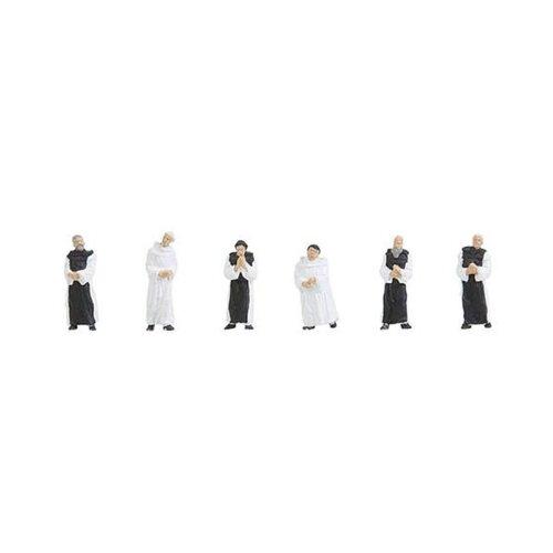 FALLER Cistercian Monks (6) Figure Set HO Gauge 150924