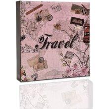 ARPAN Photo Album Slip In Case Memo Photograph For 200 x 4 x 6 Inch / 10x15 cm Picture (Travel),Valentine's Day