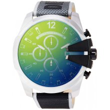 Diesel Mega Chief Men's Watch Chronograph DZ4523,New with Tags