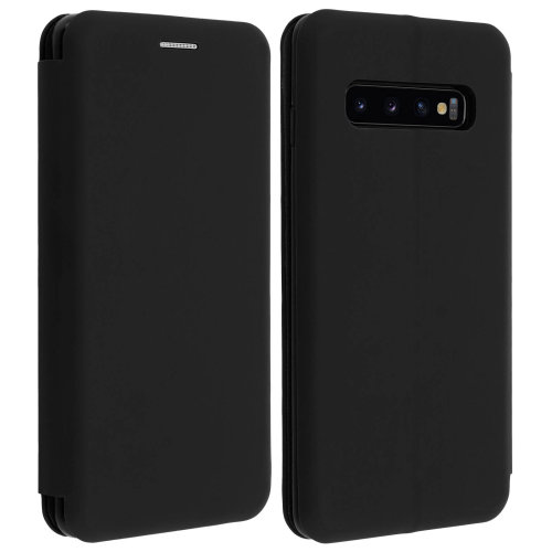 Samsung Galaxy S10 Case Card Holder Stand Function Black
