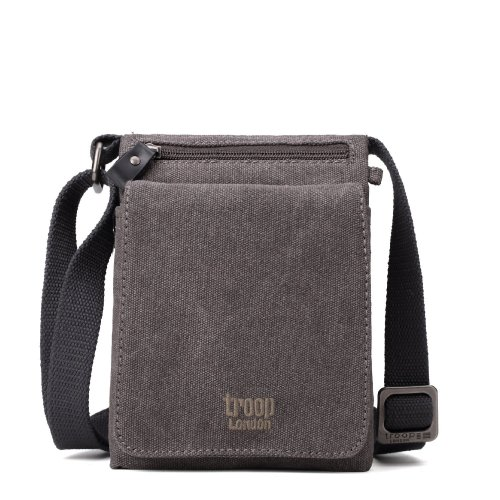 Troop London Classic Canvas Across Body Bag | Buy Across Bags Online | Canvas Across Body Bag | leather canvas backpack
