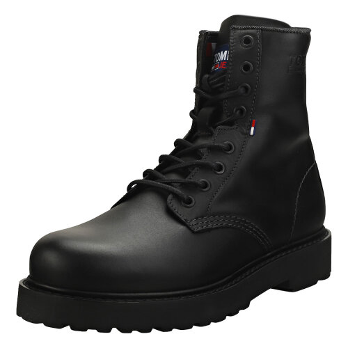 Tommy Jeans Lace Up Boot Mens Biker Boots