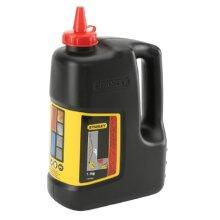 Stanley 1-47-919 Chalk Refill 1.0kg (2.5lb) Red