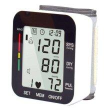 Automatic Wrist Blood Pressure Monitor Digital BP Cuff Gauge Machine
