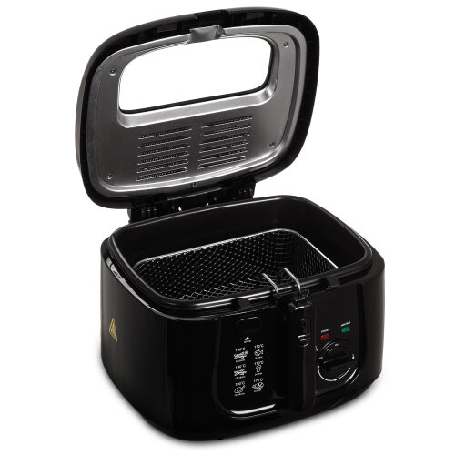 2.5L Electric DEEP Fat CHIP Fryer Non Stick Pan With Window