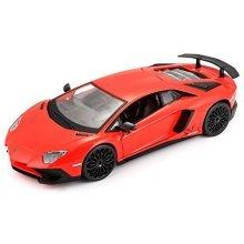 "Bburago B18-21079 1:24 Scale ""a Lamborghini Aventador"" Die-cast Model - -  aventador 124 lamborghini model bburago red diecast scale lp7504 sv car"