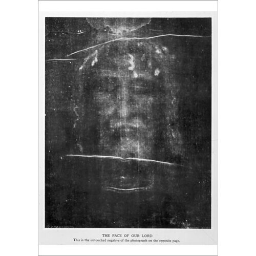 Turin Shroud Face 1934 (Poster Print)