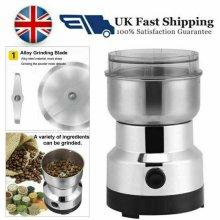 Coffee Grinder 220V Electric Grinding Milling Bean Spice Matte Blender UK Plug