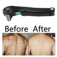 Foldable Electric Back Hair Remover Body Trimmer Razor Groomer Shaving