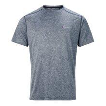 Berghaus Explorer Tech Mens Short Sleeve Base Outdoor T-Shirt Tee Grey