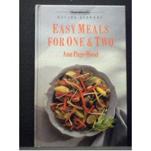 Sainsbury`s Recipe Libraray Easy Meals for One Two - Used