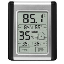Humidity Monitor with Indoor Thermometer, Digital Hygrometer and Humidity Gauge