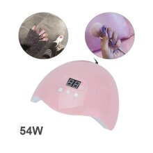 54W LED Nail Dryer Nail Polish Dryer Lamp Gel Acrylic Curing Light