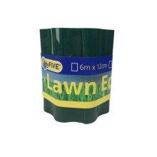 Hyfive - Garden Border - Lawn And Beet Patch Edge - 15Cm X 6M - Green