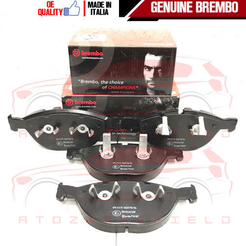 FOR BMW 5 SERIES 535d M5 FRONT GENUINE BREMBO BRAKE PAD PADS SET