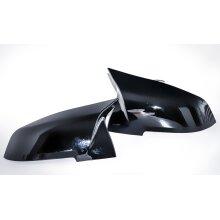 modifix_co_uk BMW M Sport Black Gloss Wing Mirror Caps Case Cover Left + Right 1 3 Series F20 F21 F30 F31 M3