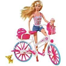 29Cm Steffi Love Bike Tour Doll Fashion Doll New