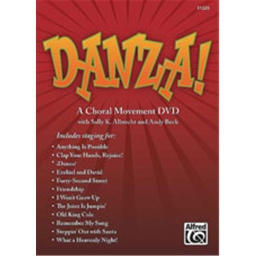 Alfred 00-31225 Danza A Choral Movement DVD - Music Book