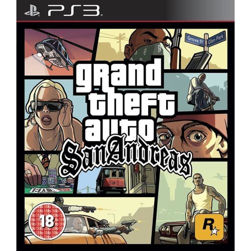 Grand Theft Auto San Andreas PS3 Game