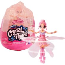 Hatchimals 6059523-Pixies Crystal Flyers Pink Magical Flying Pixie Toy